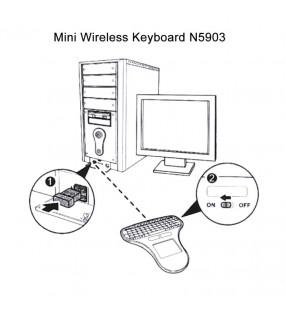 I/O Adapter Mini-Dp To Dp/A-Mdpm-Dpf-001-W Gembird